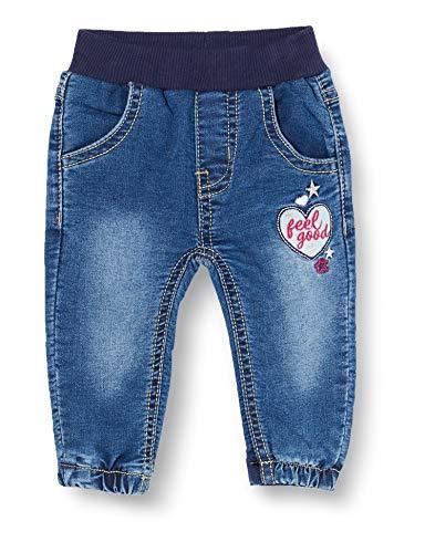 SALT AND PEPPER baby-meisjes spijkerbroek Jeans Cosy Friends Badge