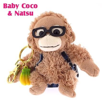 Amazon.com: Bebé Coco muñeca – Llavero de peluche (gafas ...