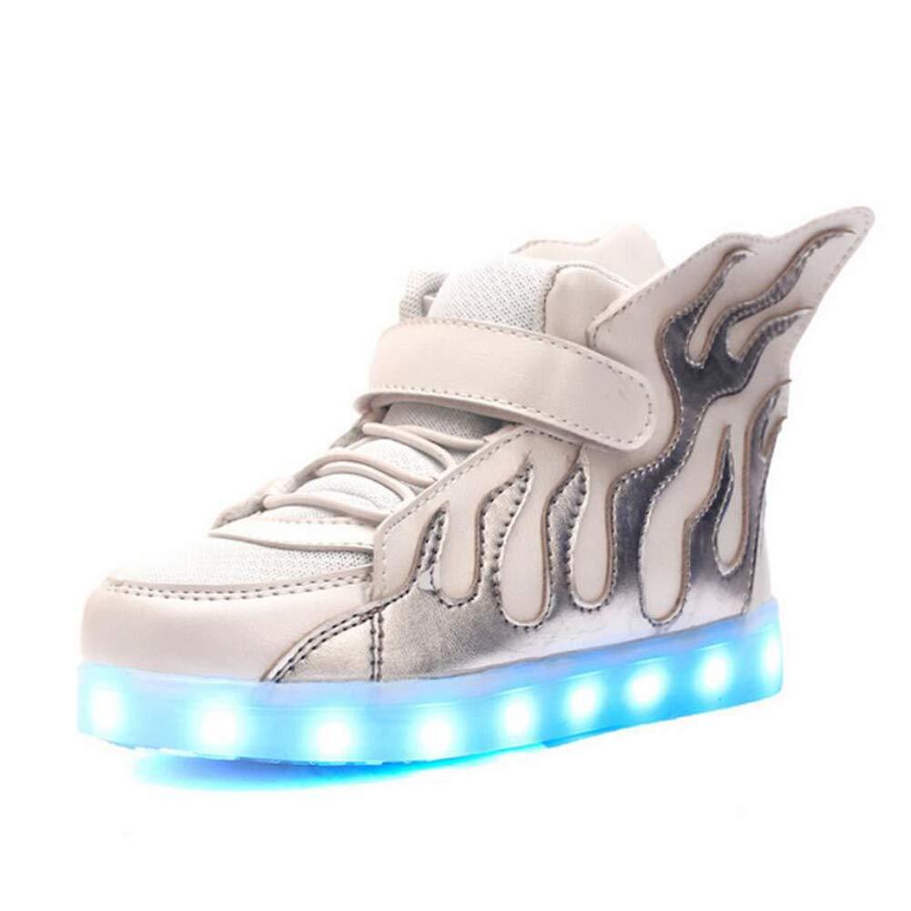 MhC Jungen Schuhe Tüll Frühling Comfort/Light Sohlen/Light up Schuhe Turnschuhe LED für Schwarz/Weiß / Schwarz/Grün / Weiß/Blau