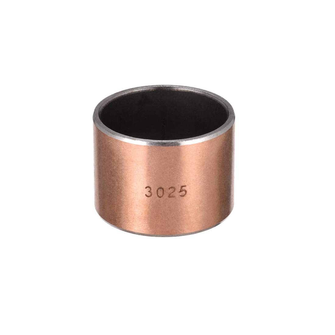 uxcell Sleeve Bearing 30mm Bore x 34mm OD x 30mm Length Plain Bearings Wrapped Oilless Bushings Pack of 1