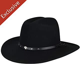 product image for Hats.com Workhorse Western Hat - Exclusive Black, Medium