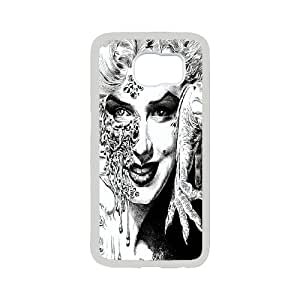 Zombie Marilyn Monroe Cool pictures PC Hard Plastic phone Case Cover For Samsung Galaxy S6 JWH9133938
