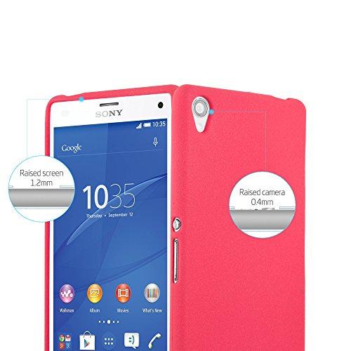 Cadorabo - Cubierta protectora para Sony Xperia Z3 de silicona TPU en diseño Escarcha