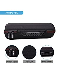 ltgem EVA duro caso bolsa de almacenamiento para Viajes Ultimate Ears UE BOOM 2 UE BOOM 1 Wireless Bluetooth Altavoz portátil. Compatible con cable USB y cargador de pared