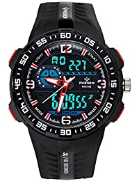 Boys Watches, LED Digital Outdoor Sports Casual...