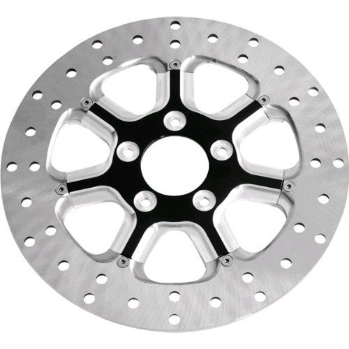 RSD 11.5 Diesel Contrast Cut Two-Piece Rear Rotor For Harley-Davidson