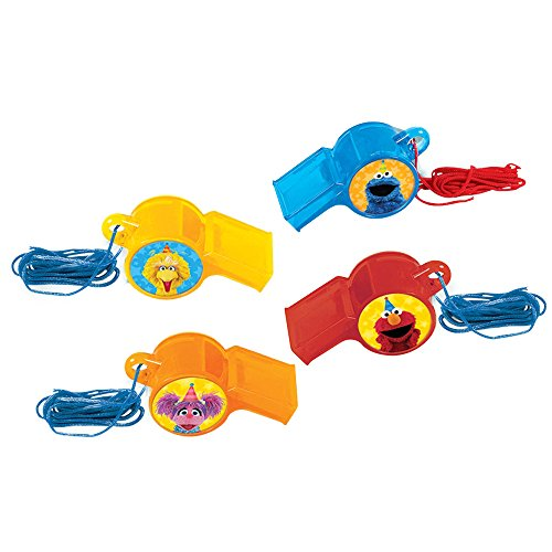 Sesame Street 2 Whistle 12ct [Contains 2 Manufacturer Retail Unit(s) Per Amazon Combined Package Sales Unit] - SKU# 397943 ()