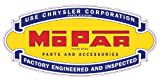 "Chrysler Used Parts decal 5"" Free Shipping in the United States"