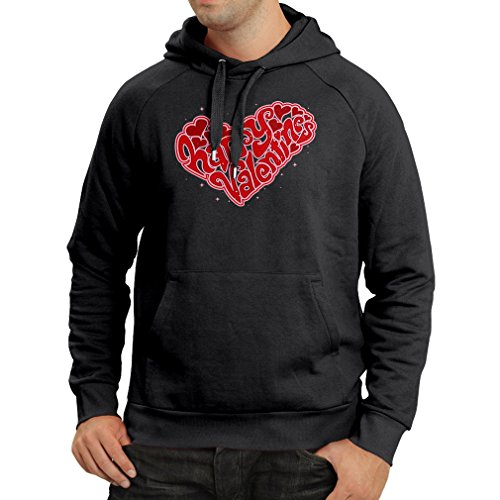lepni.me Hoodie ST. Valentines Day - My Love Sexy Valentines Day Outfits Dating Gifts (Large Black Multi Color)