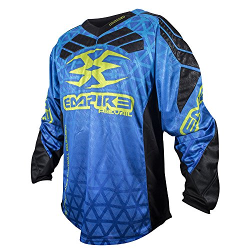 Empire 2016 Prevail F6 Paintball Jersey - Blue - 3X-Large