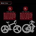 Adulti-mountain-bike-212427-velocit-Off-Road-doppio-shock-di-assorbimento-della-bicicletta-2426-pollici-alta-carbonio-coda-morbida-pieghevole-bicicletta-con-doppio-disco-freni-GialloA-24Inch-27S