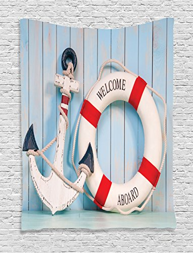 light-blue-tapestry-art-decor-by-ambesonne-anchor-and-stripe-lifebuoy-siding-on-shabby-wall-boards-c