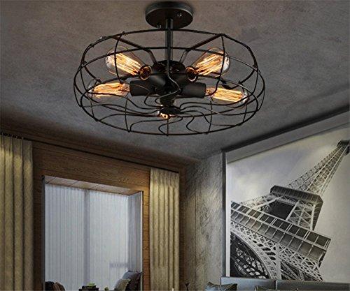 Retro Industrie Design Deckenleuchten Im Loft Style Esszimmer