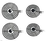 -=LiU=- 4 Pack - MP22YA Electric Range Burner Element Unit SET - 2 x MP15YA 6' and 2 x MP21YA 8' by -=LiU=-