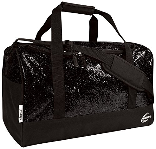 Chass Cheer Duffle Bag For Girls – Cheerleading Glitter Travel Bag