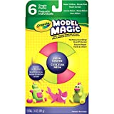 neon green model paint - Crayola Model Magic Neon Clay, Assorted, 6-Pack
