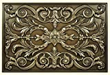 Kitchen Backsplash Premium Bronze Metal Resin Mural Medallion Hand Made Textured Tile