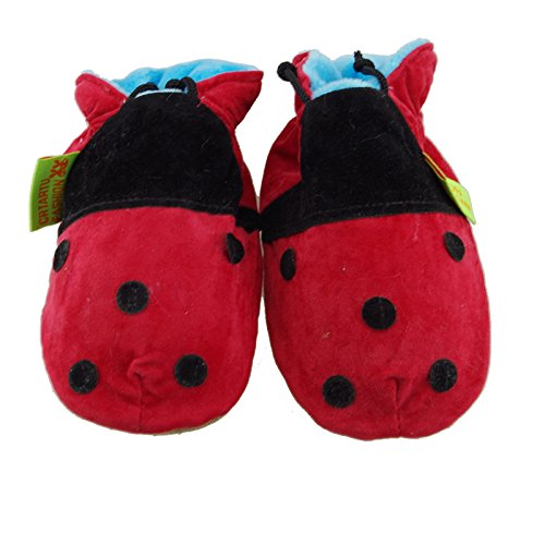 Thickened handmade Baby Toddler first walkers soft bottom shoes Beetle Shoes childhood shoes 18-24Months 14.5CM