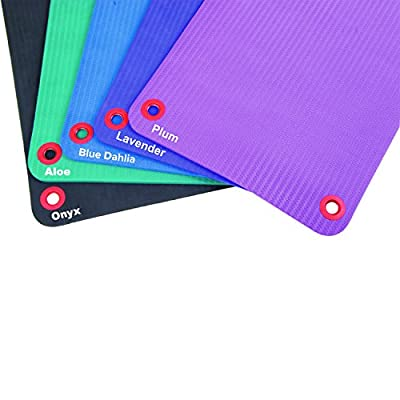 Fitness First EcoWise Premium Exercise Yoga Workout Mats
