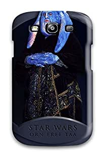 Forever Collectibles Star Wars Episode I Phantom Menace People Movie Hard Snap-on Galaxy S3 Case by mcsharks