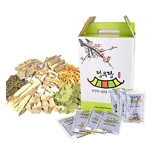 [Jeongwoodang]Weight Lose Extract Tea(Chegamcha) 60 Packs/Effective Way to Lose Weight/Diet/체감차/體減茶 Sold by Stylebang by Jeongwoodang