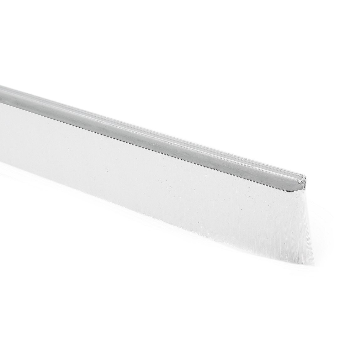 uxcell 39-inch x 1-inch Door Bottom Sweep Nylon Brush Insert Seal White by uxcell
