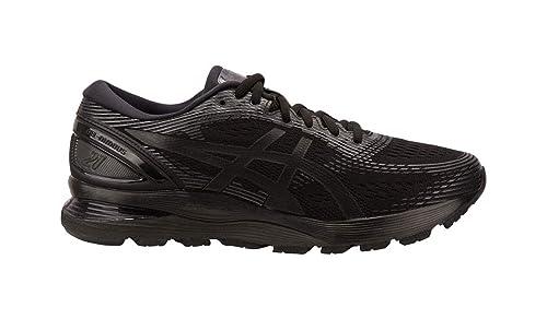ASICS Herren Gel Nimbus 21 (4E) Schuhe, 49 4E EU, Black