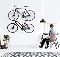 Heavy Duty Horizontal Bicycle Storage Rack Holder for Garage and Apartment Update Bike Wall Mount Hanger