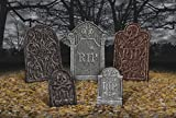 Amscan 191098 Tombstone Value Pack, Black
