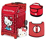 Zuca Sport Bag - Hello Kitty Labor of Love with Gift Lunchbox and Seat Cover (Red Frame)