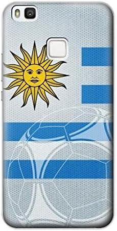 Uruguay Football Soccer Flag Case Cover Custodia per Huawei P10 ...