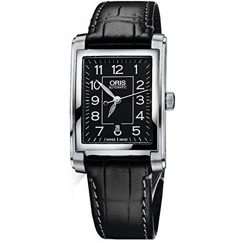 Oris Rectangular Date Ladies Watch 56176564034LS
