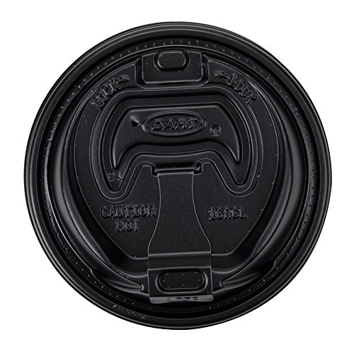 Optima Reclosable Lid for Dart 16 Series Foam Cups (1 Pack of 100) (Dart Foam Cup Lid)