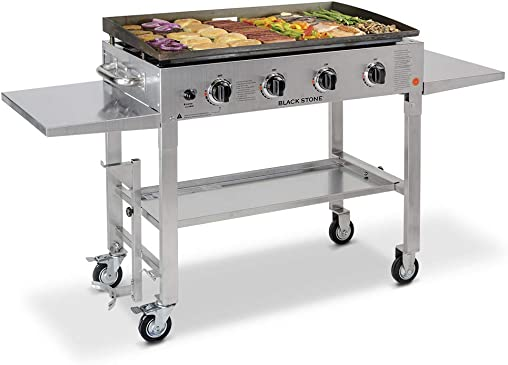 Blackstone 36 inch Stainless Steel Outdoor Cooking Gas Grill Griddle Station