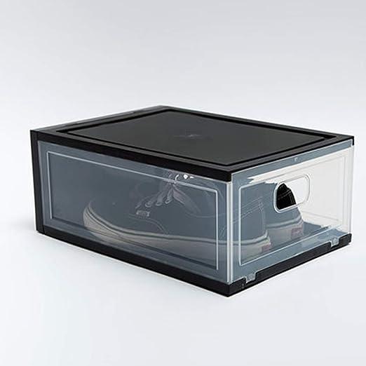 HANYF Caja De Plástico para Guardar Zapatos, Espesado C Caja Tipo ...