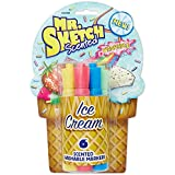 Mr.Sketch Scented Washable Marker Set 6/Pkg-Chisel Ice Cream