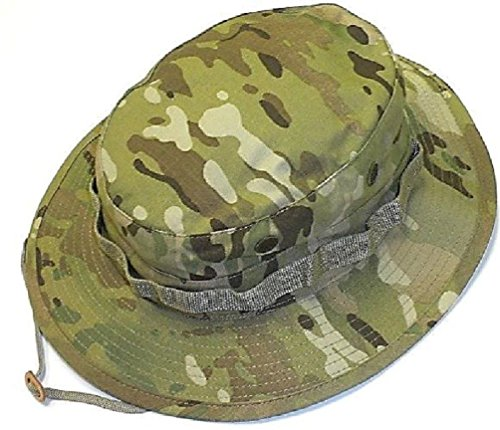 Mil Issue Tactical Camouflage Boonie Hat Rip-Stop