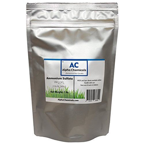 Alpha Chemicals Ammonium Sulfate - (NH4) 2SO4-1