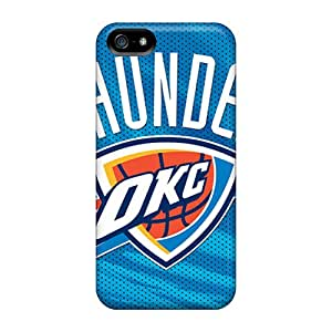 For Iphone Case, High Quality Oklahoma City Thunder For Iphone 5/5s Cover Cases