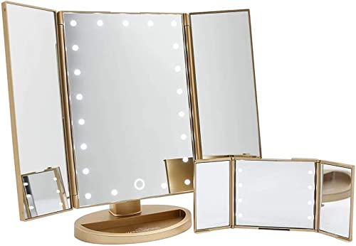 Impressions Touch and Go Trifold Makeup Mirror Bundle