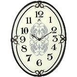 "Infinity Instruments Pristine-40"" Glass Wall Clock"