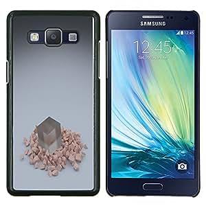 """Be-Star Único Patrón Plástico Duro Fundas Cover Cubre Hard Case Cover Para Samsung Galaxy A5 / SM-A500 ( Cubo"""" )"""