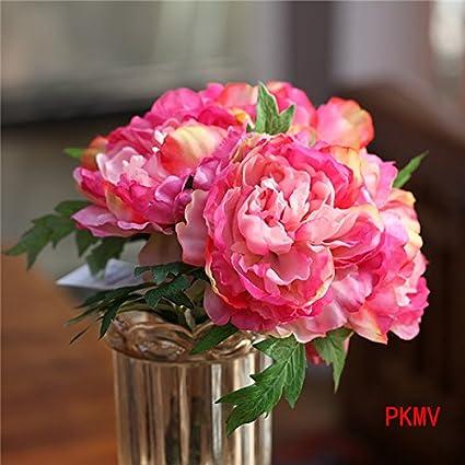 Buy yo cho pkmv cheap artificial peony bouquet silk rose bridal yo cho pkmv cheap artificial peony bouquet silk rose bridal bouquet floral wedding decoration mariage junglespirit Gallery