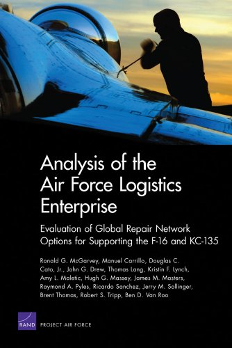 Analysis of the Air Force Logistics Enterprise: Evaluation of Global Repair Network Options for Supporting the F-16 and KC-135 (Project Air (Cost F-16 Fighter Jet)
