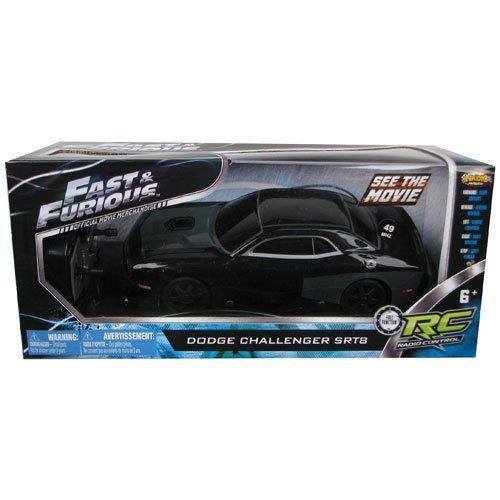 NKOK Fast & Furious Dodge Challenger Srt8 Radio Control 49 Mhz Black/grey 49 Mhz Radio Control
