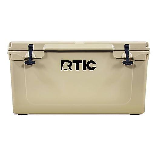 RTIC Cooler, 65 qt (Tan)
