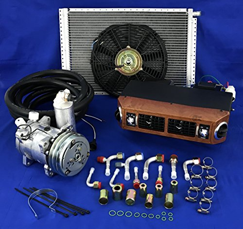 A/C KIT UNIVERSAL UNDER DASH EVAPORATOR COMPRESSOR KIT AIR CONDITIONER 432-W 12V