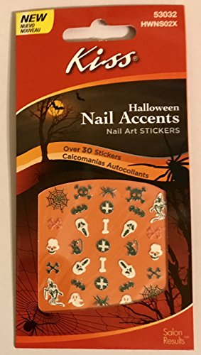 Kiss Halloween Nail Accents Nail Art Stickers # (Kiss Halloween Nail Stickers)