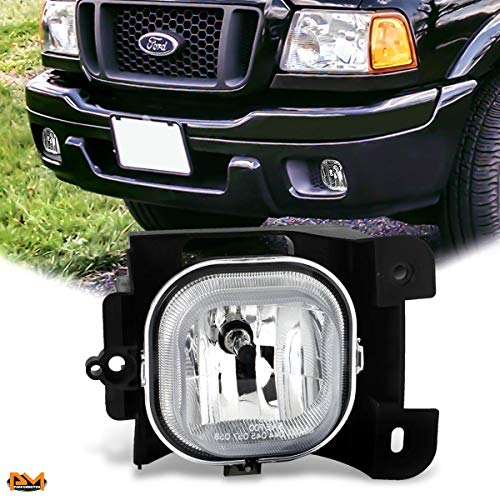 For Ford Ranger 04-05 OE Style Front Bumper Driving Fog covid 19 (Oem Style Front Bumper coronavirus)