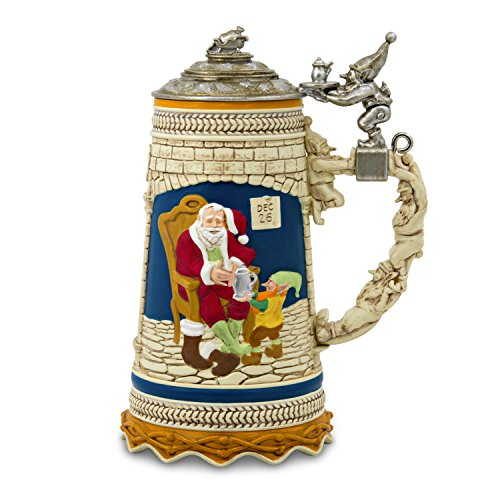 Hallmark Keepsake 2017 Beer Stein Dated Christmas Ornament